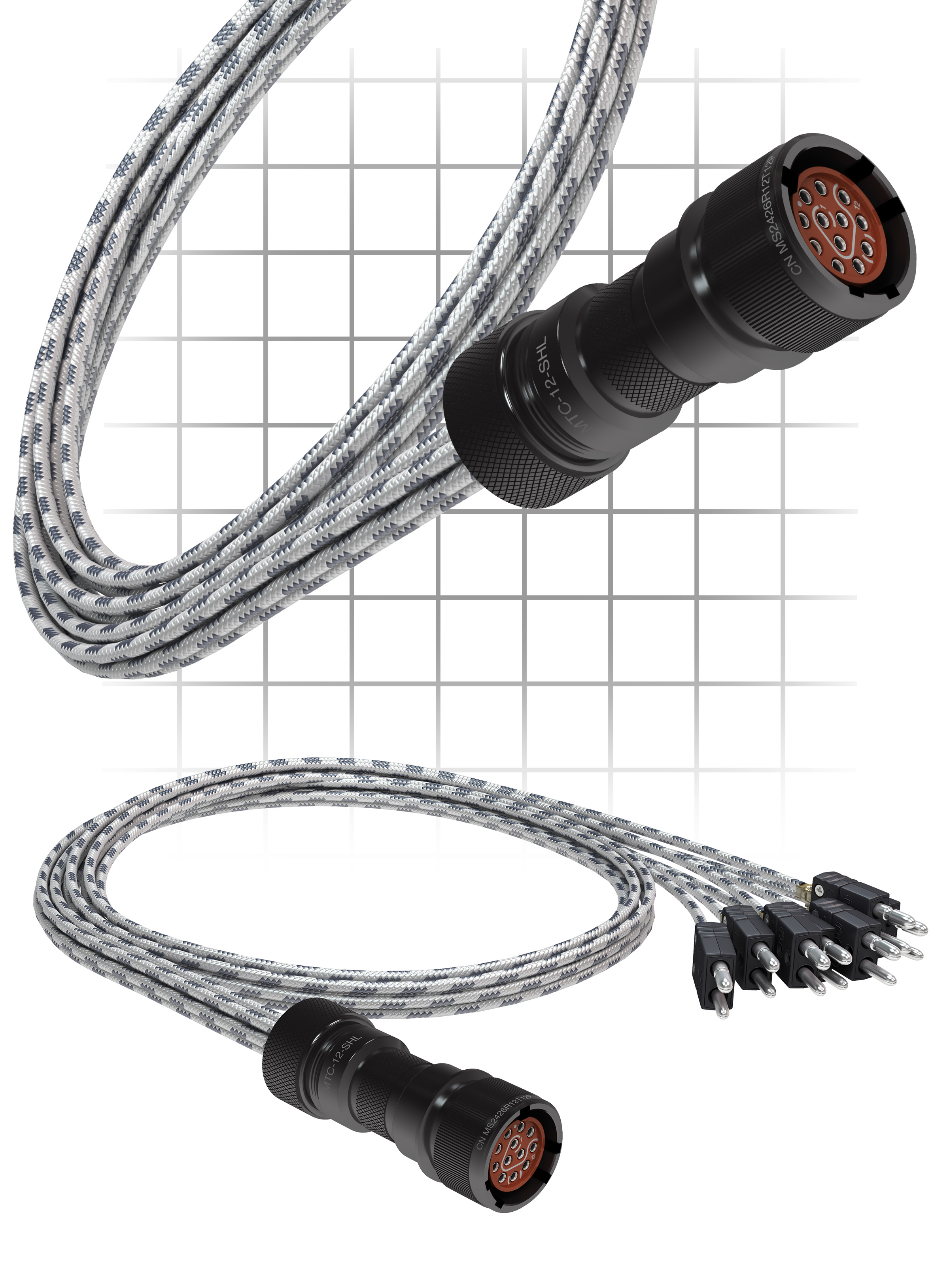 AccuConnect™ Thermocouple Extension Harnesses | TE Wire & Cable ...